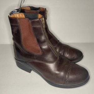 Ariat Chelsea Brown Leather Ankle Boot Ladies 9.5B